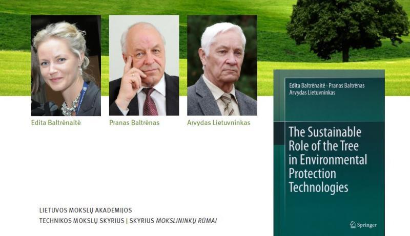 """Kviečiame į monografijos """"Tvarus medžio vaidmuo aplinkos apsaugos technologijose"""" pristatymą"""