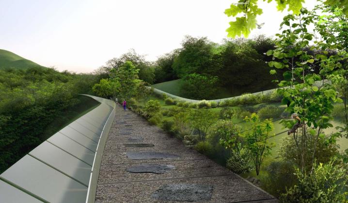 VGTU absolventas su komanda Pietų Korėjai suprojektavo išskirtinį tiltą