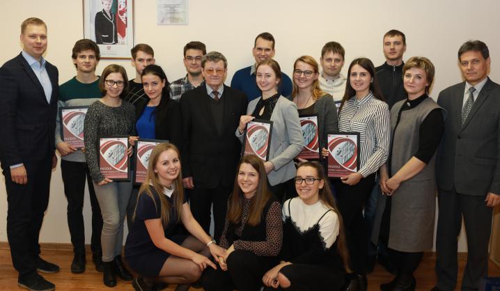 Apdovanoti pažangiausi Mechanikos fakulteto studentai